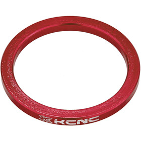 "KCNC Headset Spacer 1 1/8"" 3mm, red"